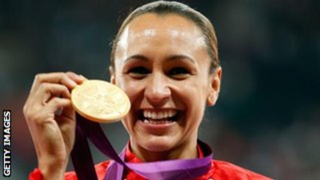 London 2012 heptathlon champion Jessica Ennis