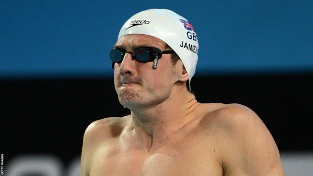 200m breaststroke silver medalist Michael Jamieson