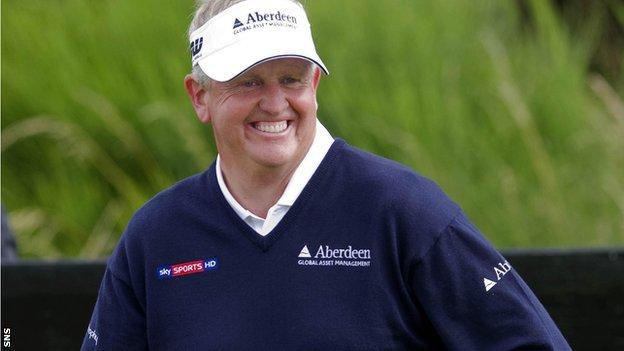 Colin Montgomerie in action