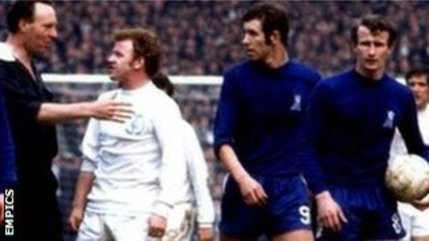 Leeds and Chelsea both had some fiery characters in their ranks