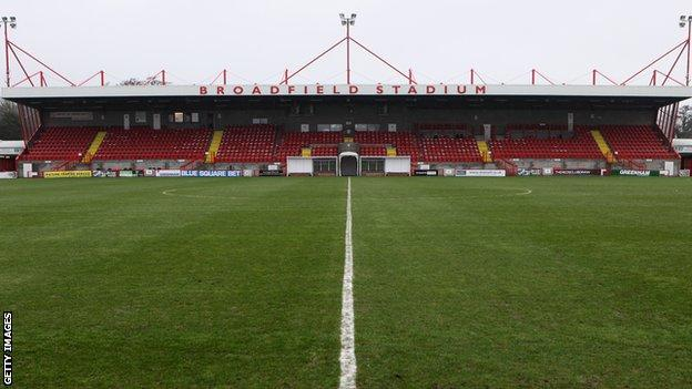 Crawley Town's Broadfield Stadium