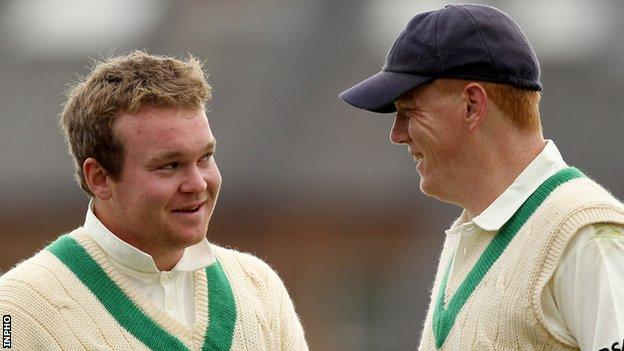 Paul Stirling and Kevin O'Brien