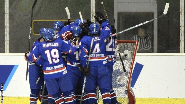 Great Britain ice hockey team