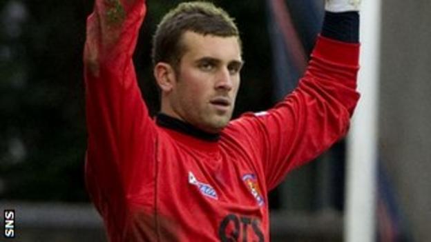 Kilmarnock keeper Cammy Bell