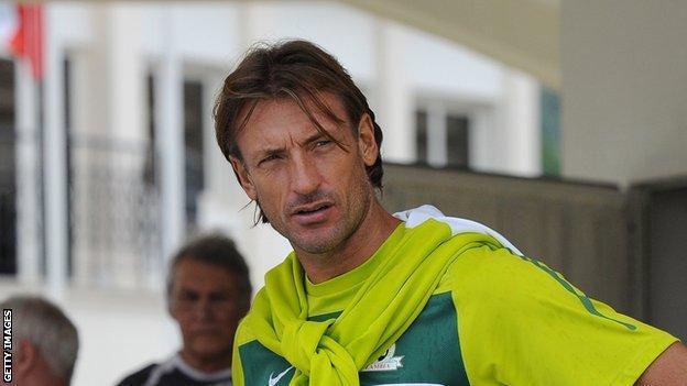 Zambia coach Herve Renard