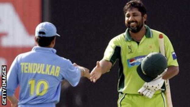 Sachin Tendulkar and Inzamam-ul-Haq shared many battles on the cricket field