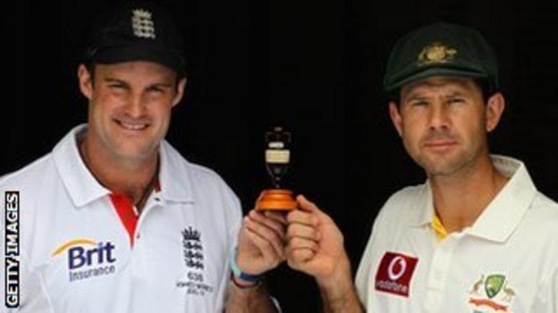 Andrew Strauss and Ricky Ponting