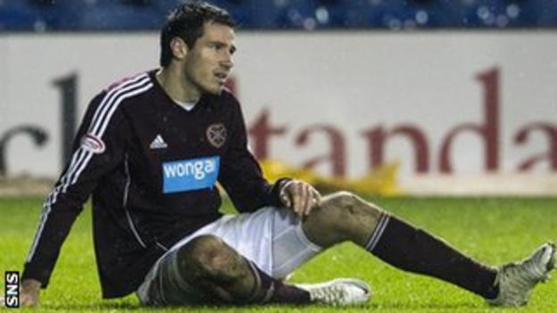 Hearts defender Ryan McGowan