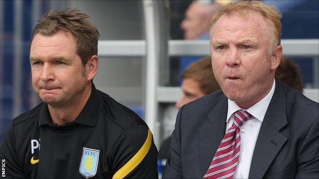 Peter Grant and Alex McLeish