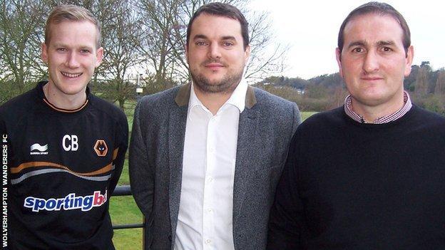 Chris Badlan (left), Stuart Webber (centre) and Kevin Thelwell