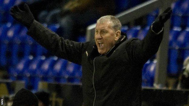Caley Thistle manager Terry Butcher