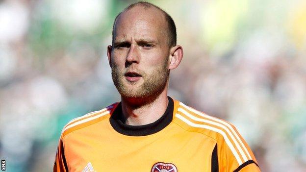 Goalkeeper Peter Enckelman