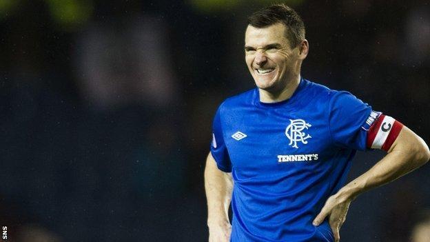 Rangers captain Lee McCulloch