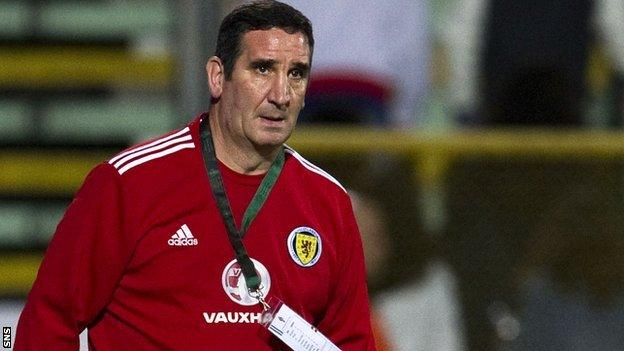 Scotland interim under-21 coach Ricky Sbragia