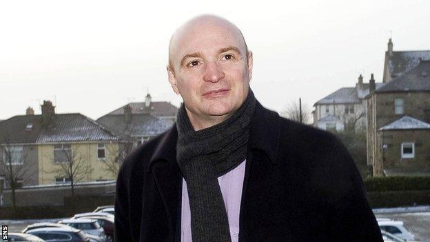 Dundee Utd chairman Stephen Thompson