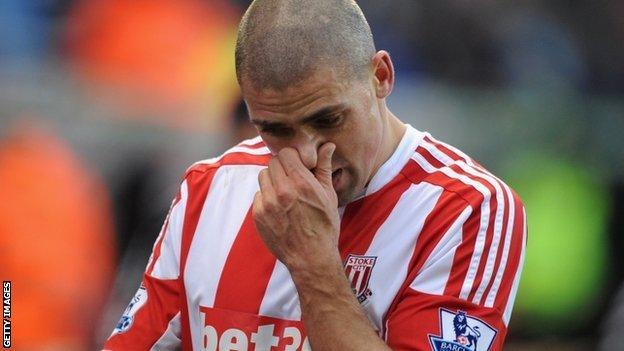 Stoke forward Jon Walters