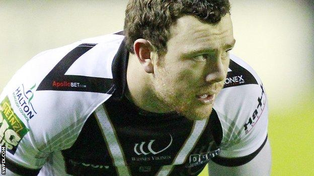 Widnes Vikings centre Stefan Marsh