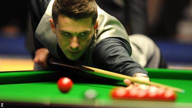 World number one Mark Selby