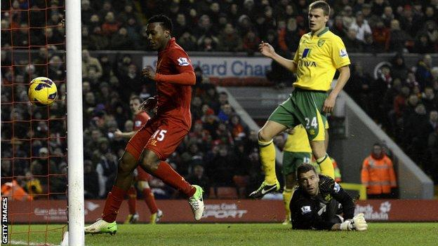 Liverpool 5 Norwich City 0