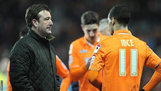 Blackpool caretaker manager Steve Thompson