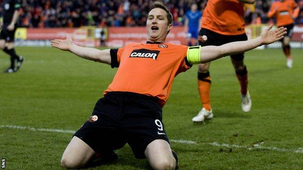 Dundee United's Jon Daly