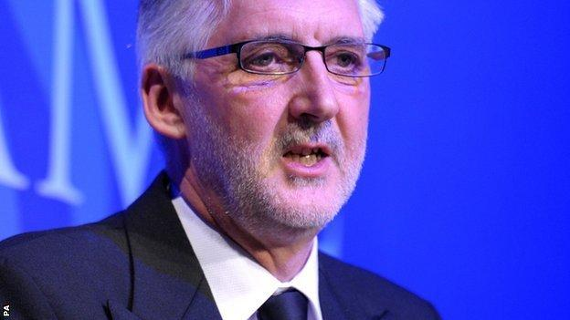 British Cycling president Brian Cookson