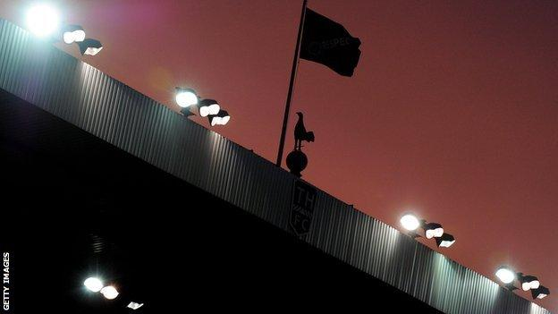 Tottenham's stadium White Hart Lane