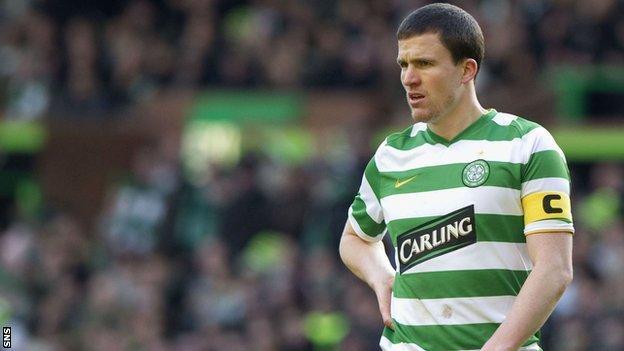 Former Celtic captain Gary Caldwell