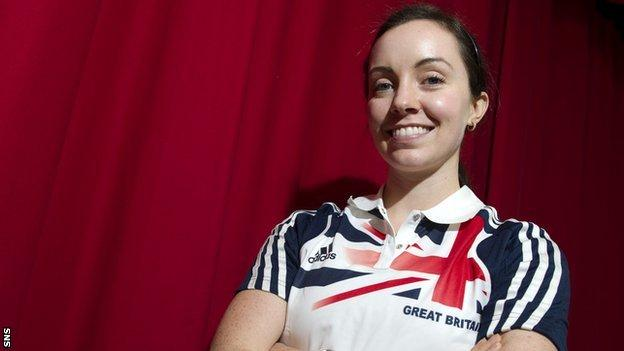 Scottish Paralympian Stef Reid