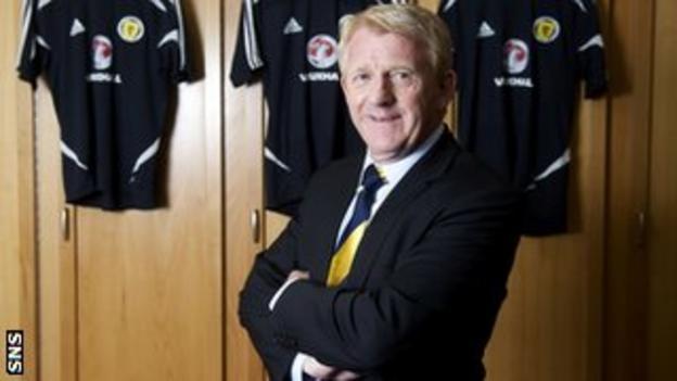 Scotland manager Gordon Strachan