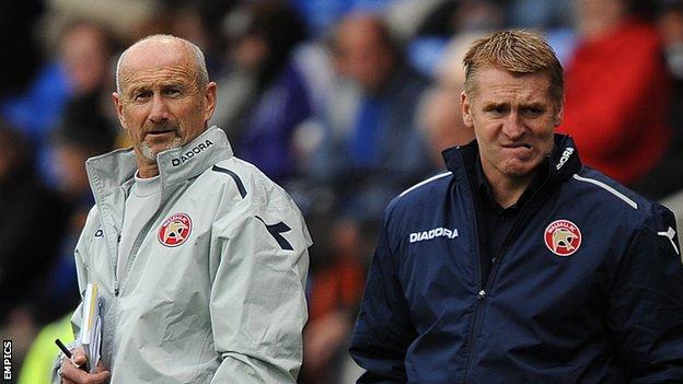 Richard O'Kelly and Dean Smith