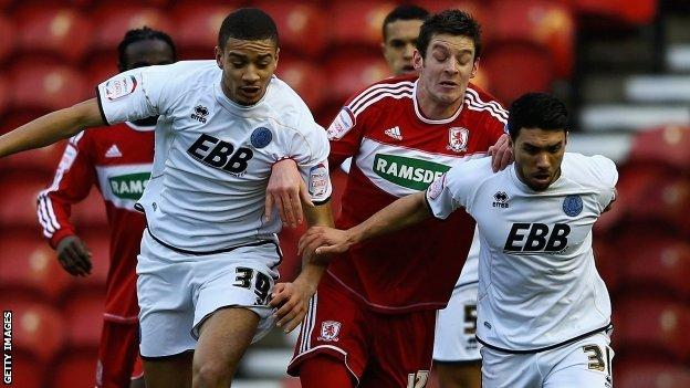 Middlesbrough v Aldershot