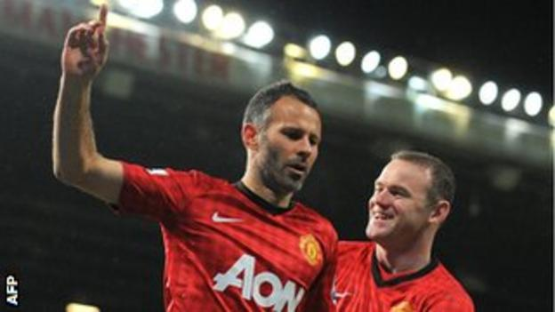 Goalscorer Giggs put in a vintage performance against the Cottagers