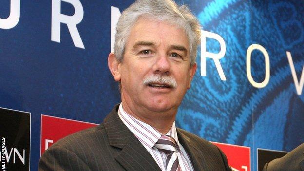 Former Blackburn Rovers chairman John Williams