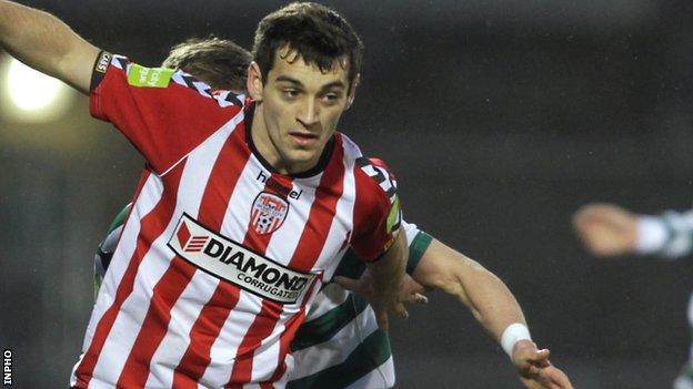 David McDaid has moved from Derry to York City