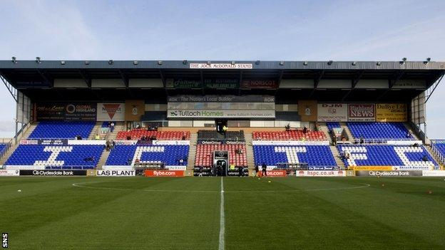 Inverness Caledonian Thistle's Tulloch Caledonian Stadium