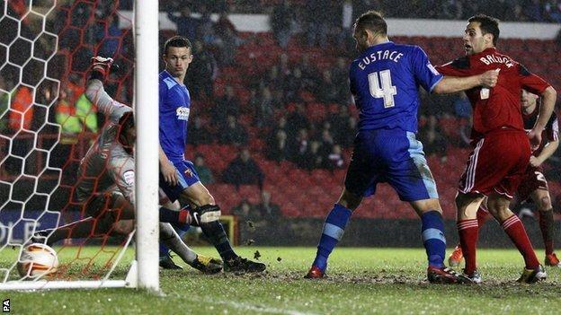 Paul Anderson scores for Bristol City