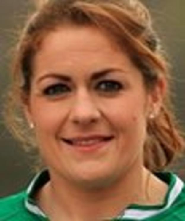 Ireland captain Fiona Coghlan