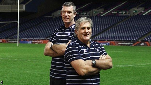 Dean Ryan and Scott Johnson
