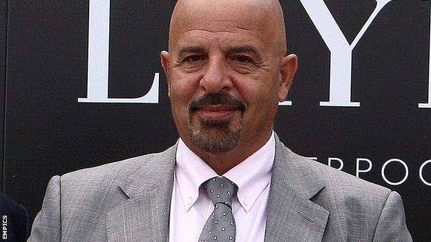Dr Marwan Koukash, the new owner of Salford City Reds
