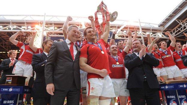 Wales win the 2012 Grand Slam