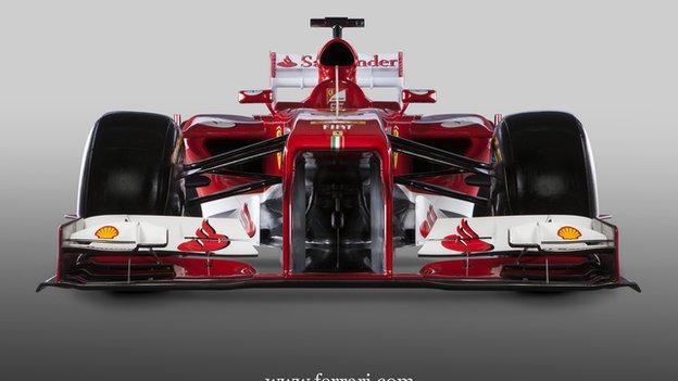Ferrari F138: New car for 2013