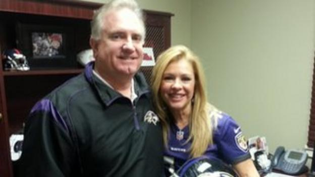 Michael Oher's parents, Leigh Anne and Sean Tuohy.