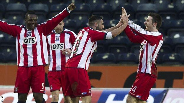 Kilmarnock beat Inverness CT 2-0 at Rugby Park