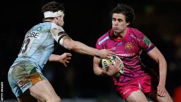 Ignacio Mieres takes on Northampton in the LV= Cup