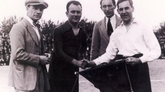 Civil Service FC v Barcelona, 1922