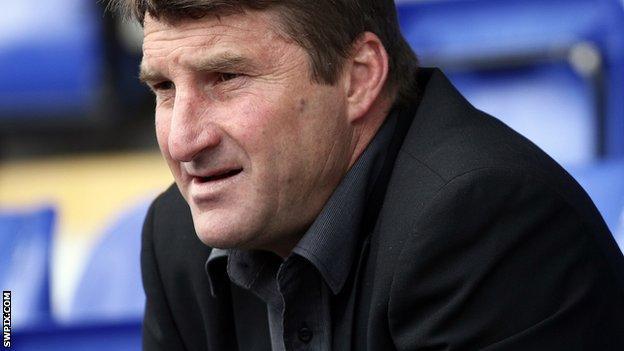 Warrington Wolves head coach Tony Smith