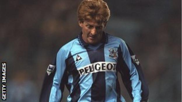 Strachan at Coventry