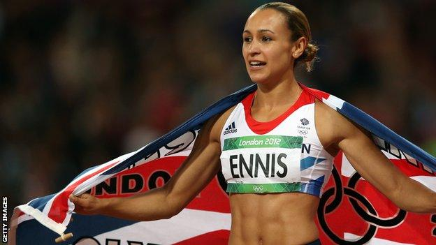 Great Britain's Jessica Ennis