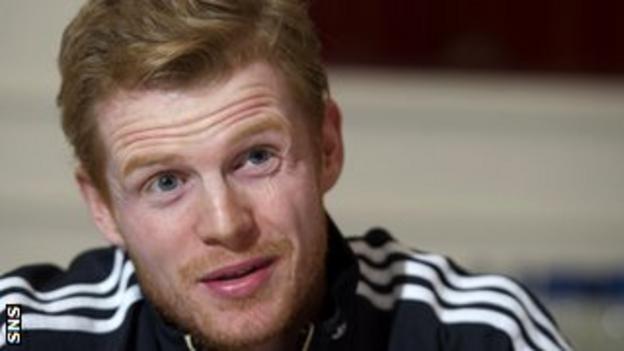 Scotland and Birmingham winger Chris Burke